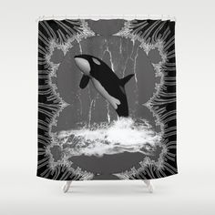 #Orca #Shower #Curtain by nicky2342 - $68.00