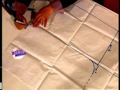 Mariela Cañete - Bienvenidas TV - Explica la costura de una Bata.