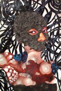 Wangechi Mutu | http://yourartitude.com/en/contenporary-art/wangechi-mutu