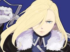 FMA character I am most like: General Armstrong