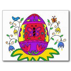 Spring Pysanka Post Cards