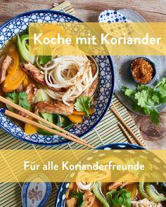 Koriander scheidet die Geister Marley Spoon, Meat, Food, Cilantro, Ghosts, Fresh, Easy Meals, Cooking, Food Food