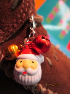 Tennie Charms Santa by jeepbut on Etsy, $6.99