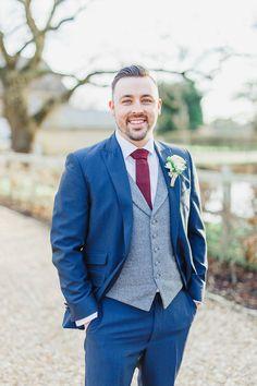 Wedding colors blue suit grey Ideas for 2019 Blue Suit Wedding, Wedding Dress Suit, Colored Wedding Dresses, Perfect Wedding Dress, Wedding Men, Purple Wedding, Wedding Suits, Wedding Colors, Wedding Ideas