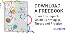Great free ebook with selected chapters from John Hattie's different books. Great as a PLD resource.