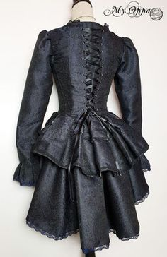 Site officiel My Oppa - site My Oppa Motif Baroque, Steampunk Costume, Victorian, Costumes, Boutique, How To Wear, Dresses, Fashion, Baroque Dress