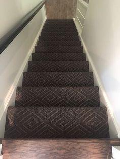 Herringbone Stairway Carpet Best Stair For High Traffic