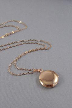 Rose Gold Locket,Locket,Rose Gold,Rose Gold Necklace,Tiny Locket,Vintage Rose Gold Locket,Vintage Locket,Little,Rose Gold Necklace,Seamaide