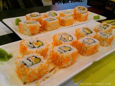Healthy Japanese Food: Easy to make California roll athome