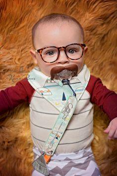 Teepee Baby Bandana Bib, Personalized Pacifier Clip, Baby Shower Gift, Birthday Baby Boy, Baby Girl Bib by KenaBows on Etsy