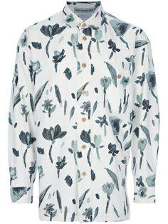 ISSEY MIYAKE MEN - Vintage  floral shirt