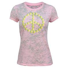S/S Light Pink Tennis Peace