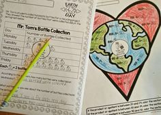 Literacy, Math, & S.T.E.M. activities to celebrate Earth Day!