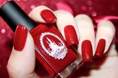 "Swatch of the nail polish ""Valentine"" from Enchanted Polish by diamant sur l'ongle"