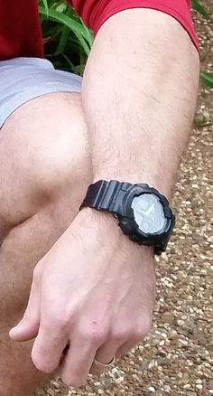 G-Shock GA-100 Wrist Shot - Dad