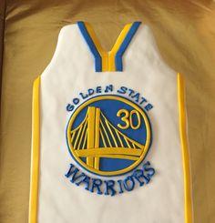 Basketball Jersey Cake