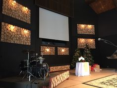 Sliced from Hope Crossing Church in Denver, CO | Church Stage Design Ideas