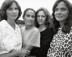 See Nicholas Nixon's 40 annual portraits of the Brown Sisters, on view through January 4. [Nicholas Nixon. The Brown Sisters, Wellesley, Massachusetts. 1988]