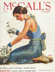 Spring Gardening McCalls 1934