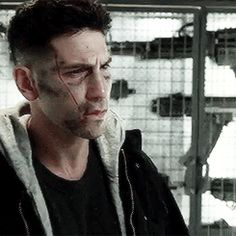 """Marvels """"The Punisher"""" aka Frank Castle, portrayed by Jon Bernthal"""