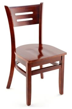 Premium Rome Series Wood Chair - Made in the USA