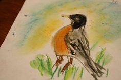 Robin: A Chalk Pastels Tutorial