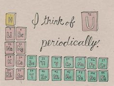 SCIENCE. | 30 Punny Valentines For Everyone You Love