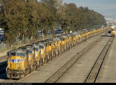 RailPictures.Net Photo: UP 4323 Union Pacific EMD SD70M at Fontana, California by R v Gersdorff