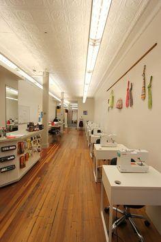 beehive sewing studio + workspace