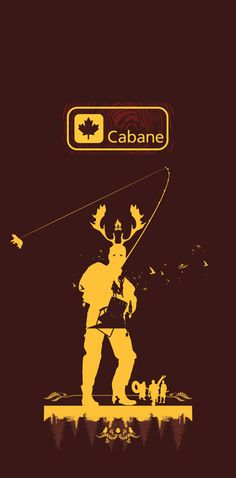 Cabane exhibition banner.  Via the Canadian Design Resource.