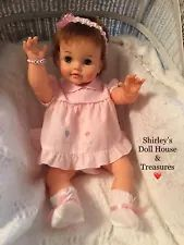 """❤️ Vintage Antique Ideal Large 23"""" Betsy Wetsy Drink & Wet Baby Doll OBW-20"""