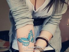 butterfly tattoo designs for hands