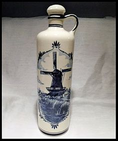 Bouteille Poterie Delf Create Your Own Website, Create Yourself, I Shop, Water Bottle, Pottery, Bottle