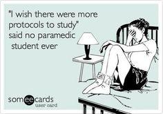 Paramedic School.... UGH!