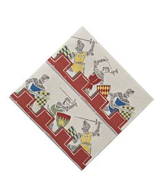 Take a look at this Brave Knights Napkin - Set of 40 by Meri Meri on #zulily today!