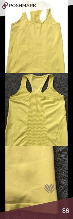 Forever 21 Neon Mesh Breathable Tank Racer Back Worn once but was too big for my frame. Perfect for any light or heavy workout! Forever 21 Tops Tank Tops