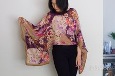 It started with a desire to do a simple DIY idea of refashioning my pretty-but-not-used-much-at-all rectangular H&M scarf into a kaftan top. I would...