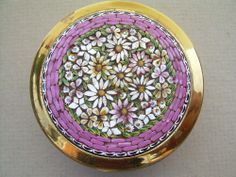 1930s Italian Micro Mosaic Trinket Box.