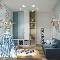 Bedroom Cupboard Designs, Wardrobe Design Bedroom, Kids Bedroom Designs, Boys Bedroom Decor, Kids Bedroom Furniture, Kids Room Design, Baby Room Decor, Girls Bedroom, Children Furniture