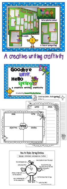 $ - Are you ready for spring?  This is a simple and fun writing craftivity that works on elaborating sentences.  Perfect for the first few weeks of spring!