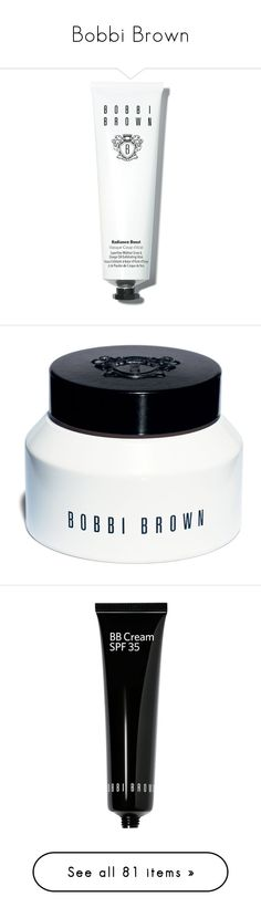 """""""Bobbi Brown"""" by dddawn ❤ liked on Polyvore featuring logo, text, beauty products, skincare, face care, face masks, apparel & accessories, multicolored, bobbi brown cosmetics and clay face mask"""