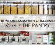 Home Organization Challenge Week 3 The Pantry via ABFOL
