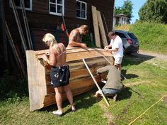 Workshop-Virumaa, historical fishman boats' restoration and renovation, Käsmu Maritime Museum, Estonia