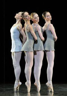 ~ Marianela Nuñez, Samantha Raine, Sarah Lamb, Lauren Cuthbertson, The Royal Ballet ~ Performance Piece