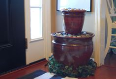 DIY Water Garden Feature for inside or outside