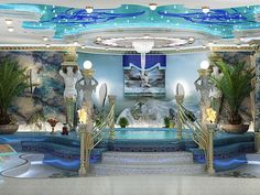 Luxury #AncientGreek Bathroom by Antonovich Design