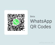 WhatsApp führt QR Codes auf Nutzerbasis ein Ios App, Alt Codes, Whatsapp Marketing, Coding, Transitional Chandeliers, Programming