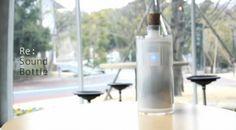 La bouteille qui enregistres les sons de la journée, vous les restitue pour un mix...