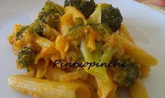 Macarrones con brócoli al estilo siciliano