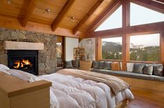 How could you be in a bad mood waking up to this? Dreaming of mountain style!